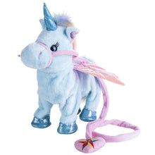 25% OFF - LIMITED TIME OFFER - 35cm Walking, Singing and Shaking Plush Unicorn