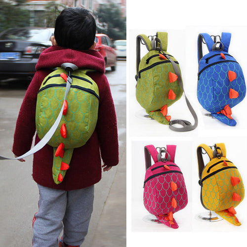 28% OFF - LIMITED TIME OFFER - Anti-Lost 3D Dinosaur Toddler / Small Kids Backpack