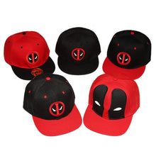 40% OFF - LIMITED TIME OFFER - Adult Deadpool Flat Rim Cap