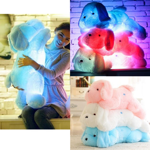 37% OFF - Adorable LED Light Up Plush Puppies - 3 Colors