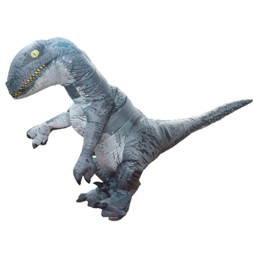 25% OFF - LIMITED TIME OFFER - Adult Inflatable Velociraptor Dinosaur Costume