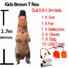 $10 OFF on Adult Size - Adult and Kid Inflatable T-Rex Dinosaur Costume