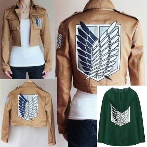 Attack on Titan Vest and Cape