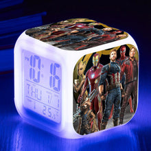 28%Avengers: Infinity War - LED 7 Colours Changing Alarm Clock