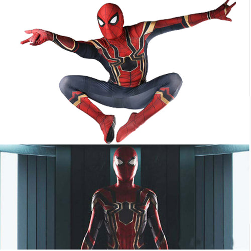 23% OFF - LIMITED TIME OFFER - Kid and Adult - Avengers: Infinity War Spider-Man Costume