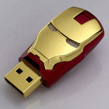 Avengers Iron Man LED Light Eyes USB Memory Drive - 8GB 16GB 32GB 64GB 128GB