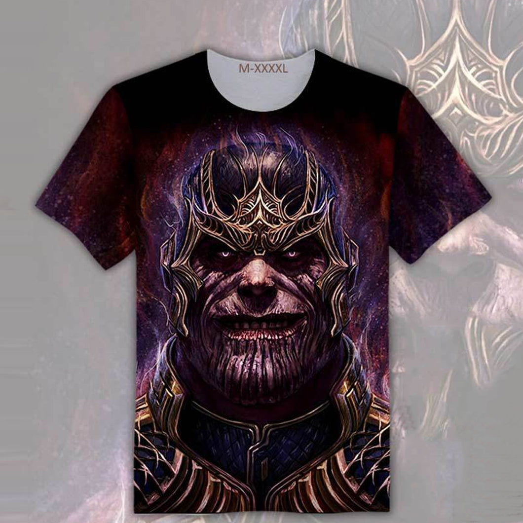 Avengers: Infinity War Thanos Double Sided T-Shirt - Teen & Adult