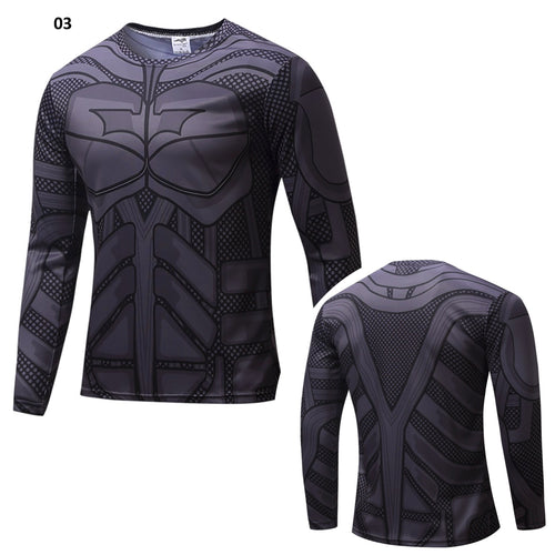 33% OFF LIMITED TIME OFFER - Batman Long Sleeve Compression Shirt