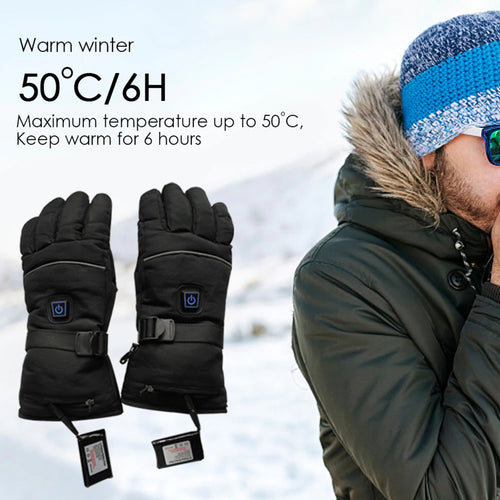 28% OFF - LIMITED TIME OFFER - Battery Powered Thermal Heated Gloves - 3 Heating Levels