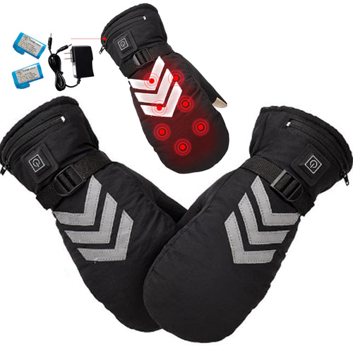 28% OFF - LMITED TIME OFFER - Touch Screen Heated Mittens - 3 Heating Levels