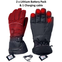 28% OFF - LIMITED TIME OFFER - One Size Battery Powered Thermal Heated Gloves - 3 Heating Levels