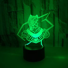 Black Panther 3D Optical Colour Changing Illusion Touch or Remote Control Light