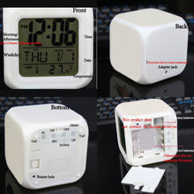 Deadpool Alarm Clock - LED 7 Colours Changing Alarm Clock