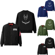 33% OFF LIMITED TIME OFFER - Black Panther Bomber Jacket - 3 Colours