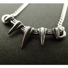Black Panther Claw Pendant Necklace