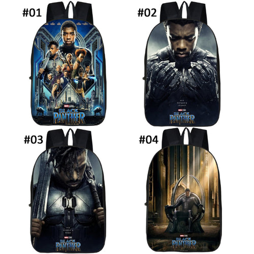 22% OFF - LIMITED TIME OFFER - Black Panther Teen Backpack - T'Challa & Erik Killmonger