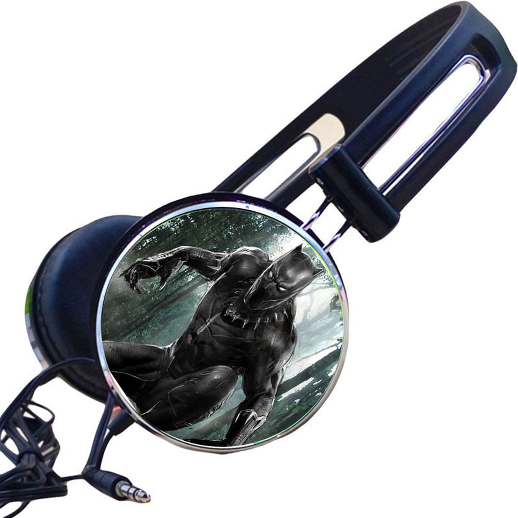 Black Panther Headphones