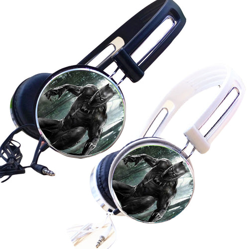 28% OFF LIMITED TIME OFFER - Black Panther Headphones