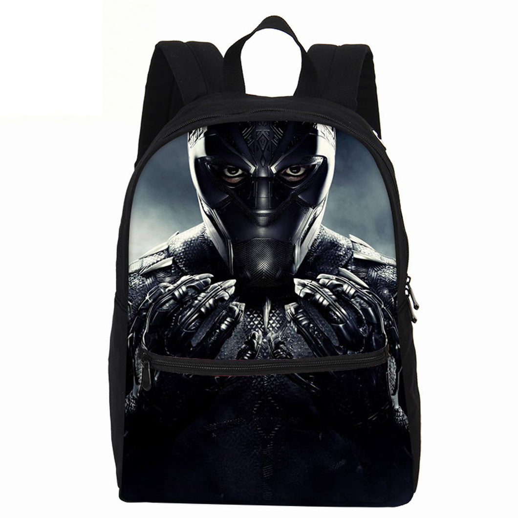 15% OFF - LIMITED TIME OFFER - Avengers Black Panther Teen Laptop Backpack with Front Pocket