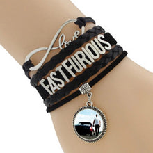 Multilayer Braided Bracelets Fast Furious Infinity Charm Bracelet, Leather Bracelet & Bangle - 16 Bangle Models