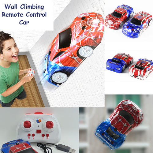 35% OFF - LIMITED TIME OFFER - Captain America & Spider-Man Wall Climbing & Anti Gravity Ceiling Racing Car