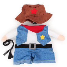 Cat and Dog Cowboy Costume