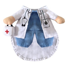 Cat and Small Dog Costume - Doctor and Nurse
