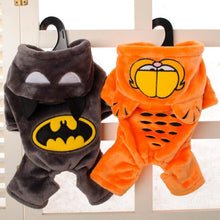 Cat and Dog Fleece 4-Leg Suite -  Garfield and Batman