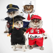 Cat and Small Dog Costume - Police, Sailor, Bachelor, Racer