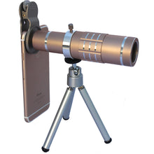 10% OFF - LIMITED TIME OFFER - Clip On 18X Optical Zoom Cell Phone Telescope with Tripod