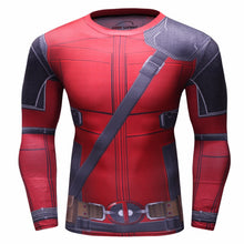Deadpool Compression Long Sleeve Shirt