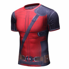 NEW Deadpool Compression Short Sleeve Shirt