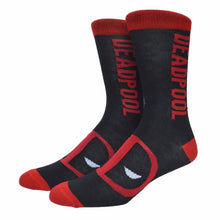 Deadpool Crew Length Socks