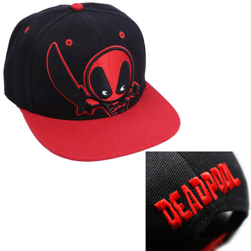 40% OFF - LIMITED TIME OFFER - Adult Deadpool Embroidered Cap