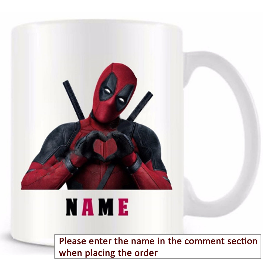 Deadpool Personalized Mug