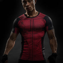 Deadpool Compression Short Sleeve Shirt