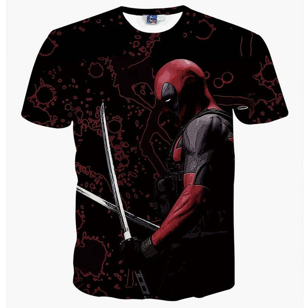 Deadpool Teenager and Adult T-Shirt