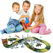 40% OFF - LIMITED TIME OFFER - Jurassic World Dinosaur Flexible Race Track Set - 144 Pcs