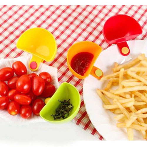 25% OFF - LIMITED TIME OFFER - Dip, Sauce and Condiment Clip Cup - 4pcs Set