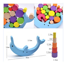 42% OFF - LIMITED TIME OFFER - Dolphin Balancing Educational Wooden Stacking Blocks