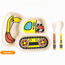 25% OFF - LIMITED TIME OFFER - Excavation Plate & Utensils - 3Pcs Set