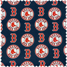 NHL, NBA, NFL and MLB Double Sided - 1 Team / Plain - Reversible Slip Over Collar Dog and Cat Bandana (Licensed Fabric)