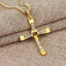 Fast and Furious Cross Dominic Toretto Necklace & Pendant-Silver or Gold Colour