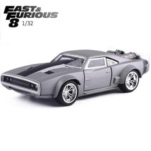 20% OFF - LIMITED TIME OFFER - 1:32 Scale Fast & Furious 8 - Dom's Dodge Ice Changer Pull Back Car