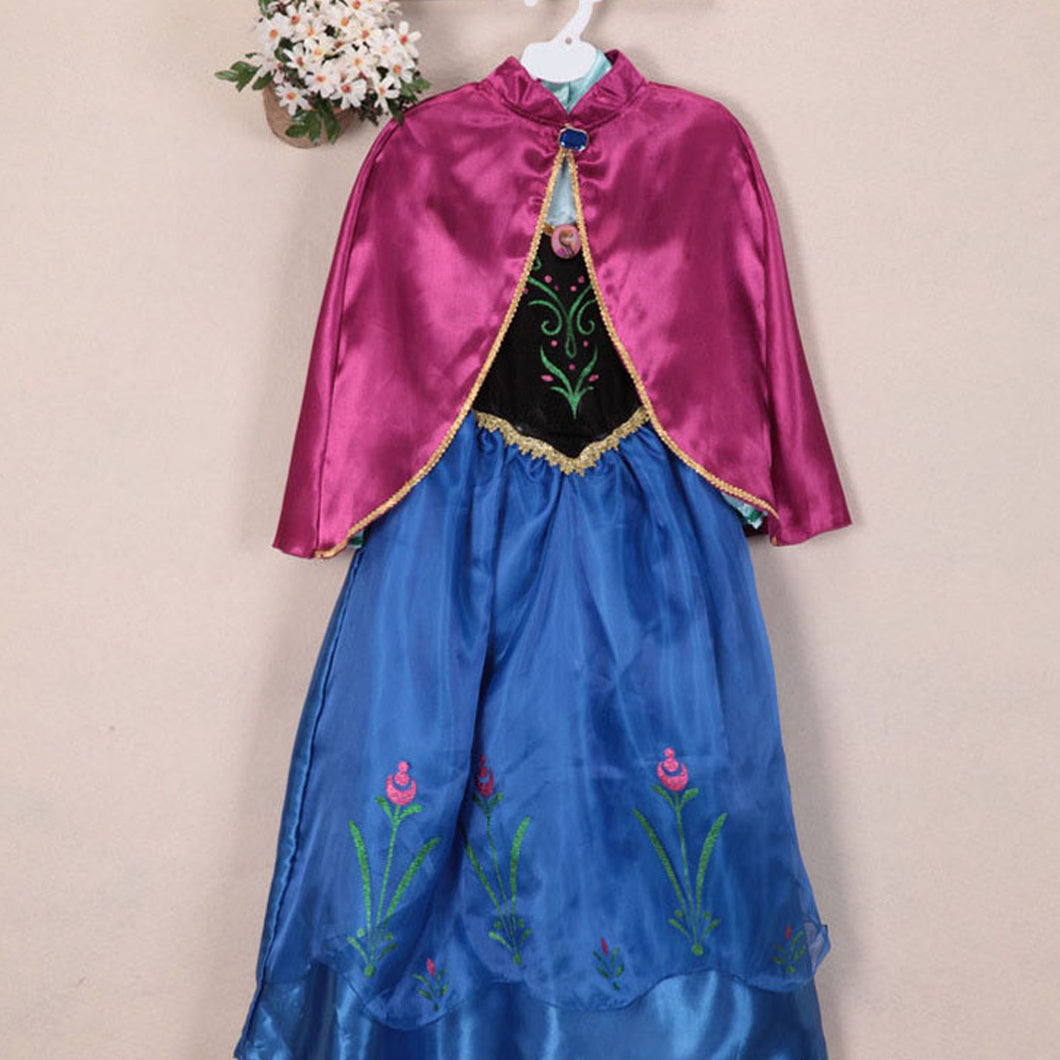 Frozen - Anna Black and Blue Dress