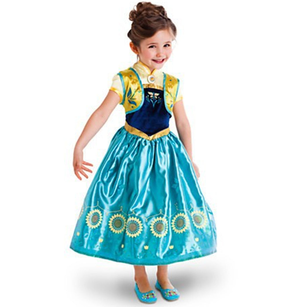 Frozen - Anna Yellow and Blue Dress