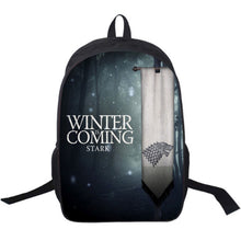 Game of Thrones Winter is Coming Stark Backpack - 4 Models