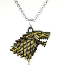 Game of Thrones House Crest Necklace - 3 Models, 2 Colours