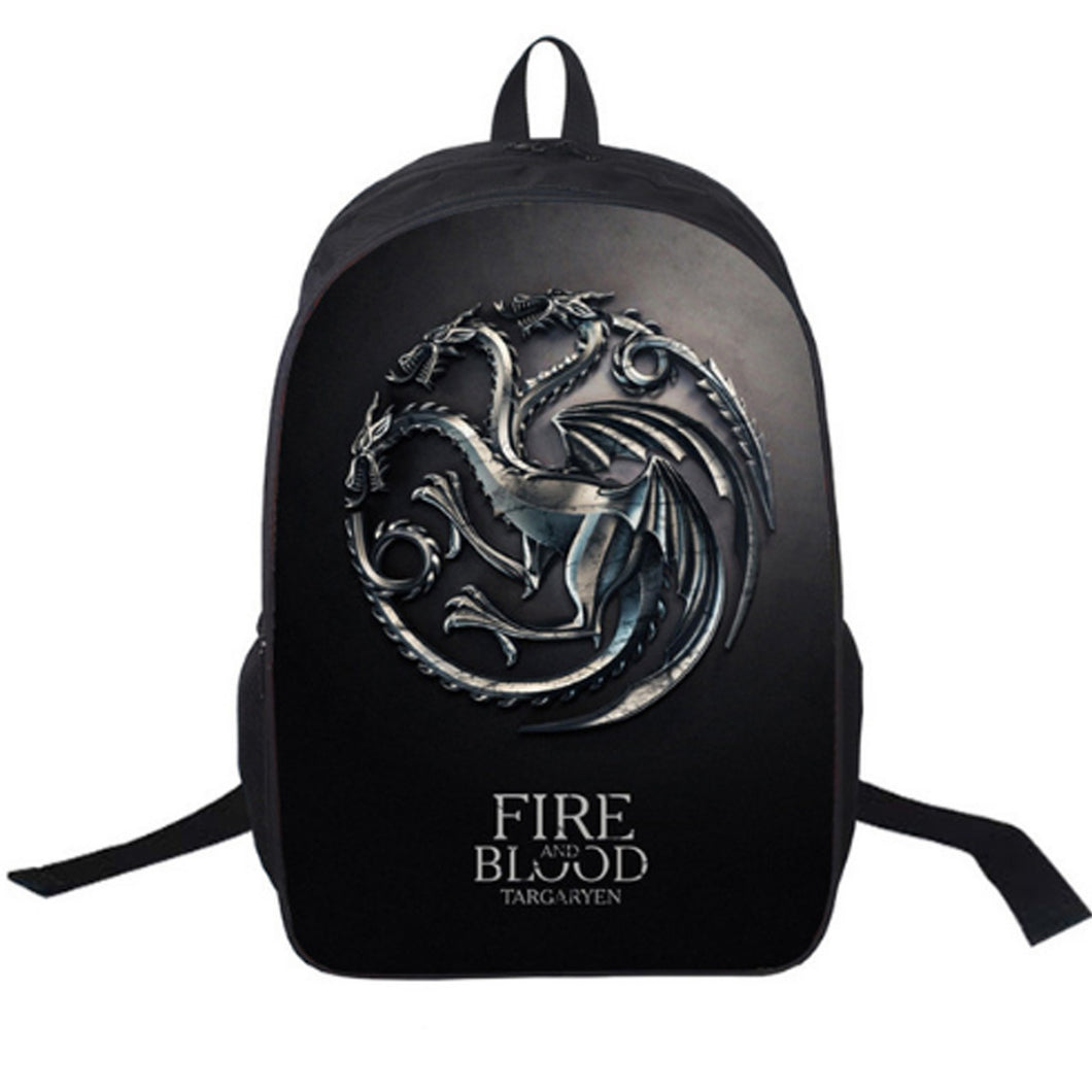 Game of Thrones House Crest Backpack - 2 Designs