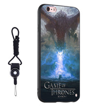 Game of Thrones Season 7 Silicone Phone Case Cover for Apple iPhone and Samsung - 10 Designs